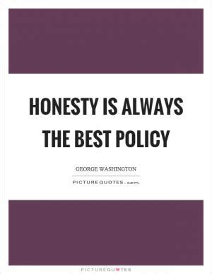 Honesty Is Not Always the Best Policy - Term Paper